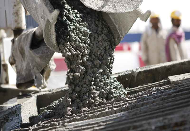 fast track construction with slag cement concrete