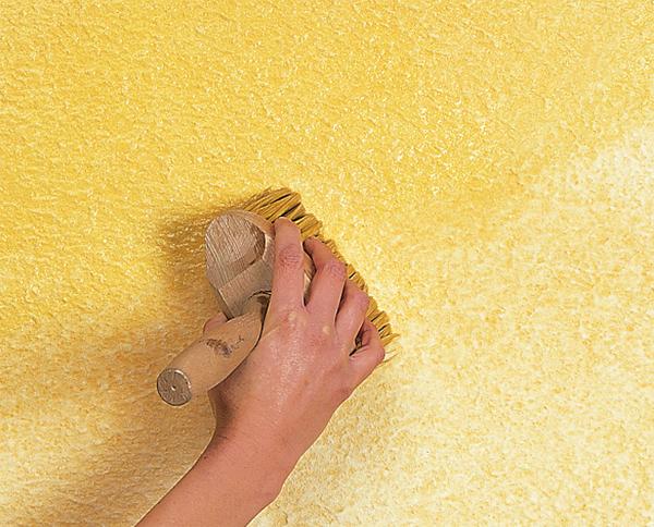 Декоративная штукатурка стен шпаклёвкой своими руками